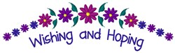Wishing And Hoping embroidery design