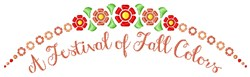 Fall Colors embroidery design