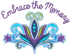 Embrance Memory embroidery design
