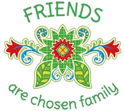Chosen Family embroidery design