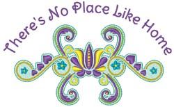 Like Home embroidery design