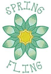 Spring Fling embroidery design