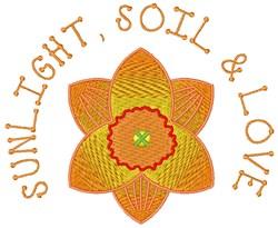 Sunlight & Love embroidery design