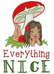Everything Nice embroidery design