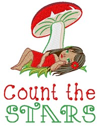Count The Stars embroidery design