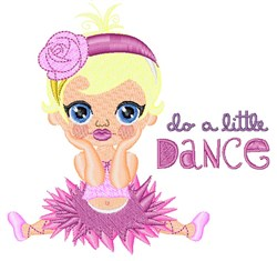 A Little Dance embroidery design