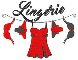 Lingerie embroidery design