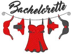 Bachelorette embroidery design