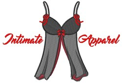Intimate Apparel embroidery design