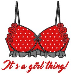 A Girl Thing embroidery design