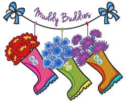 Muddy Buddies embroidery design