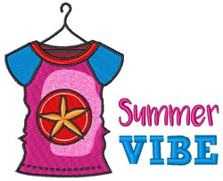 Summer Vibe embroidery design
