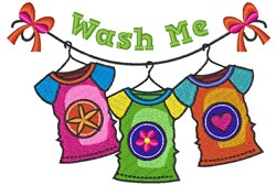 Wash Me embroidery design