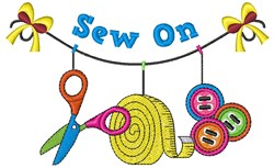Sew On embroidery design