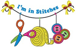 In Stitches embroidery design