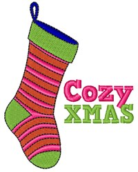 Cozy Xmas embroidery design