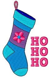 Ho Ho Ho Stocking embroidery design