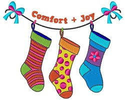Comfort & Joy embroidery design