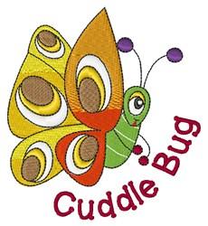 Cuddle Bug embroidery design