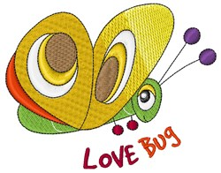 Love Bug embroidery design