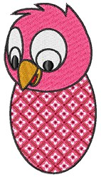 Pink Chick embroidery design