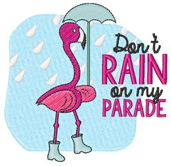 Rain On Parade embroidery design