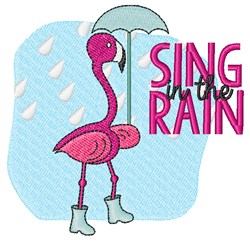 Sing In Rain embroidery design