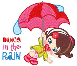 Dance In Rain embroidery design