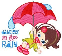 Dances In Rain embroidery design