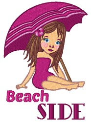Beach Side embroidery design