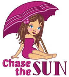 Chase The Sun embroidery design