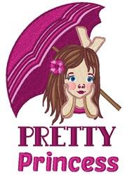 Pretty Princess embroidery design