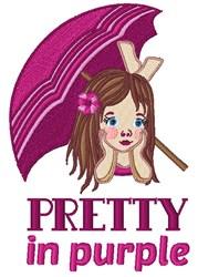 Pretty In Purple embroidery design