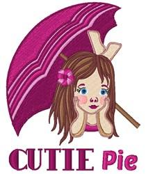 Cutie Pie embroidery design