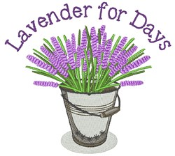 Lavender For Days embroidery design