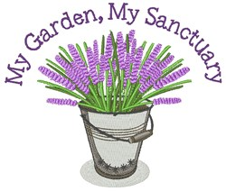 My Sanctuary embroidery design