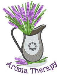 Aroma Therapy embroidery design