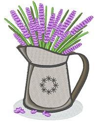 Lavender Bouquet embroidery design