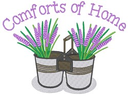 Comforts Of Home embroidery design