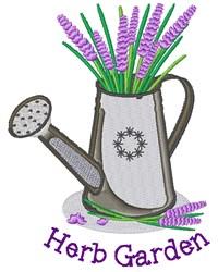 Herb Garden embroidery design