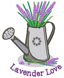 Lavender Love embroidery design