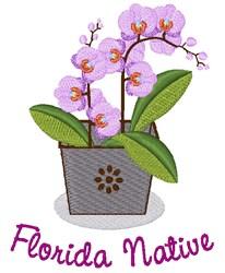 Florida Native embroidery design