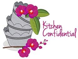 Kitchen Confidential embroidery design