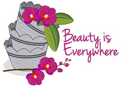 Beauty Everywhere embroidery design