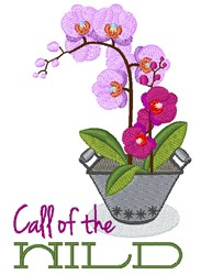 Call Of Wild embroidery design