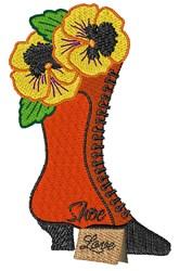 Shoe Love embroidery design