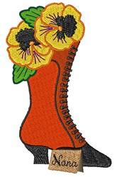 Nana Boot embroidery design