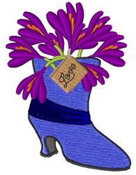 Love Crocus embroidery design