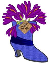 Kickin It embroidery design