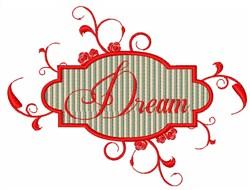 Dream Sign embroidery design